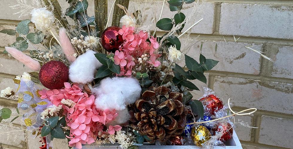 Everlasting Xmas Cheer | Pink and White
