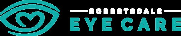 Robertsdale Eye Care line black bgd.png