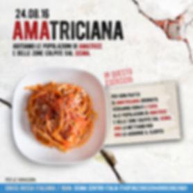 #AMAtriciana: solidarietà con le popolazioni colpite dal terremoto   Osteria dell'Arco Ristorante a Roma