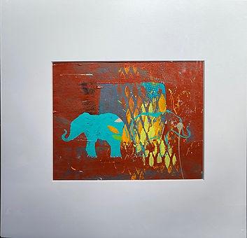 Elephant disco-Annedosso_16x20_acrylicon