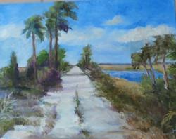 mcqueen's island trail painting - Carol