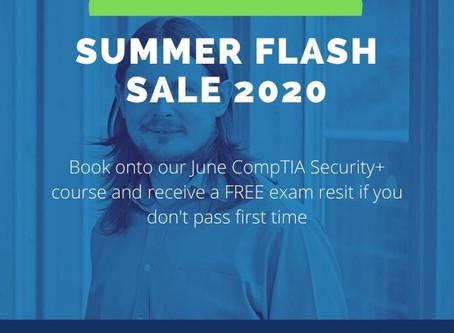 CompTIA Security+ Training Flash Summer Sale