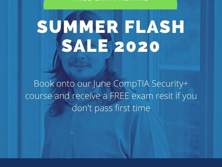 CompTIA Security+ Training Flash Summer Sale