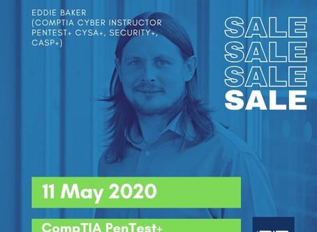 CompTIA PenTest+ Virtual Training Deal