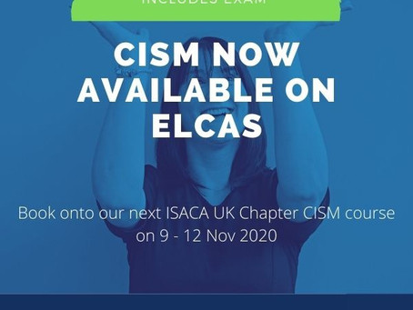 CISM is now available on ELCAS