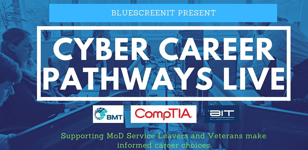 Cyber Security Career Event for MoD Service Leaver and Veterans
