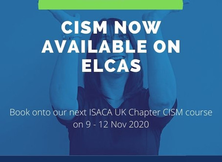 CISM Certification Training ELCAS Funded