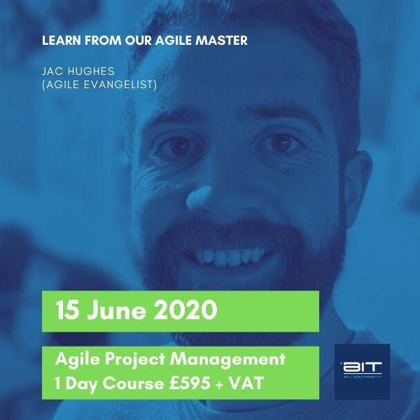 Agile Project Management training at BluescreenIT UK