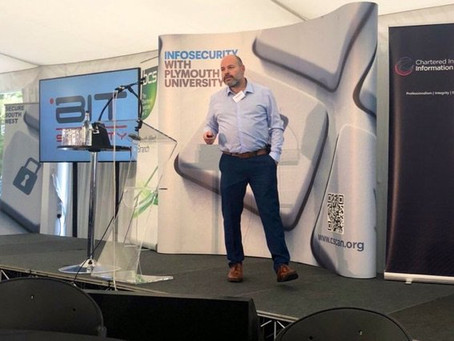 Mike Dieroff presents at Secure South West 13