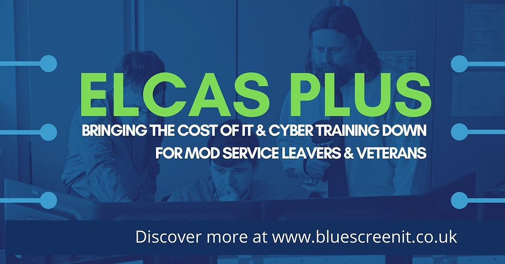 ELCAS Funded IT and Cyber training courses available