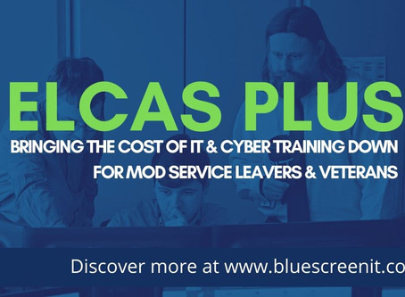 Bringing the cost of IT and Cyber Training down for MoD Service Leavers and Veterans