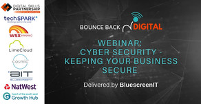 Business Webinar, Cyber Security - Keeping you Secure