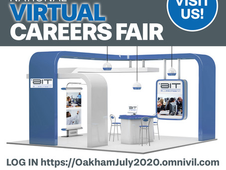 BluescreenIT are Exhibiting at the Oakham British Forces Resettlement Service Virtual Careers Fair