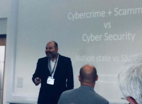 BluescreenIT presenting at Marine and Maritime Cyber Security Event