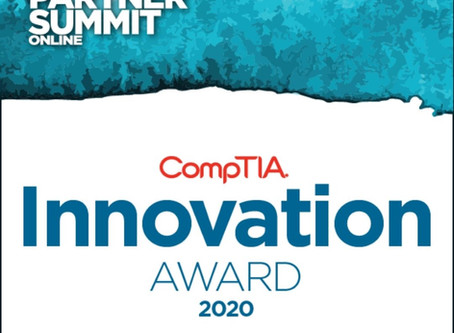 CompTIA Recognises BluescreenIT for Innovation and Leadership in Educating and Training