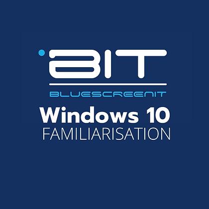 Windows 10 Familiarisation