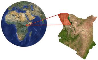 map of West Turkana