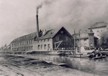 """Vriezenveen door de tijd """"Fabriek Jansen & Tilanus"""""""