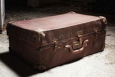 """Vriezenveen door de tijd """"koffer"""""""