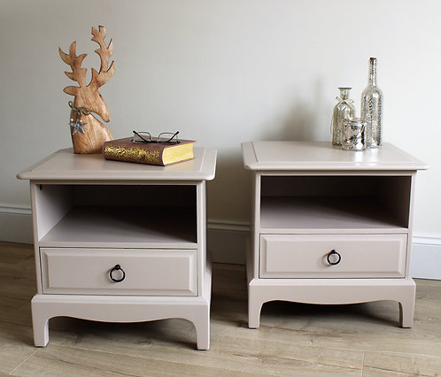 Stag Bedside Draw Unit (pair)