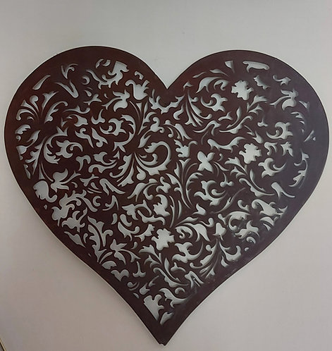 Heart Wall Plaque
