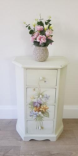 Vintage Floral Drawer Unit