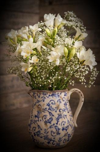 Floral Ceramic Jug