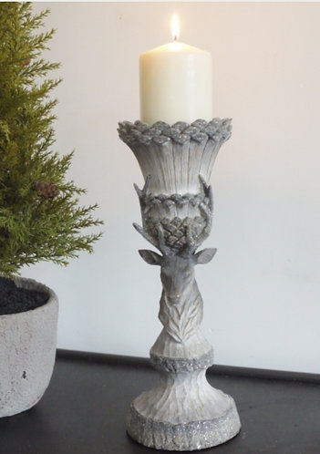 Small Stag Candle Holder