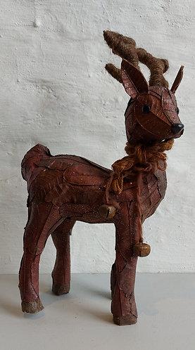 Copper Leaf Standing Deer