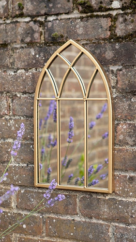 Small Gothic Outdoor mirror