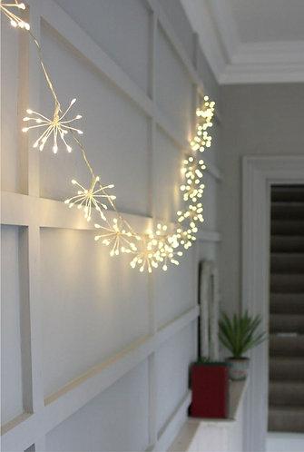 Starburst Silver Fairy Light Chain
