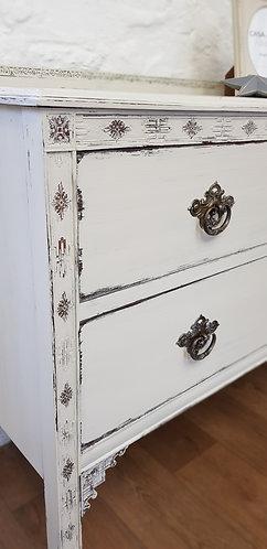 Vintage Two Drawer Dresser