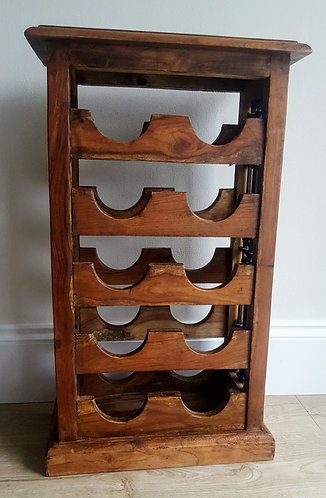 Indian Rosewood Wine Rack