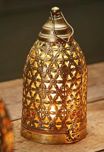 Antique Gold Finish Lantern