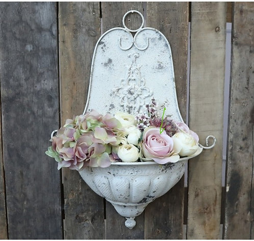Vintage French Wall Planter