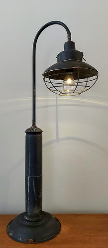 LED Freestanding Iron Lantern