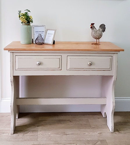 Rustic Pine Farmhouse Style Sideboard