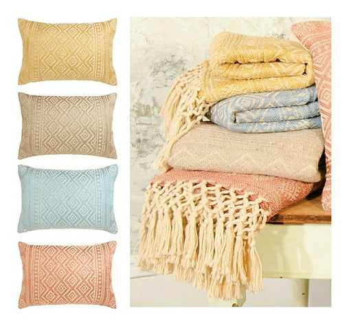 Cushions - made from recycled plastic