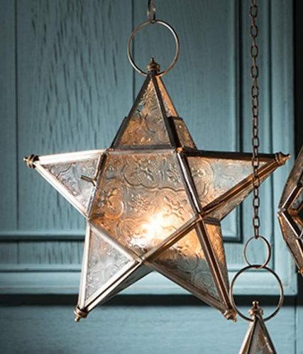 Hanging Glass Lantern