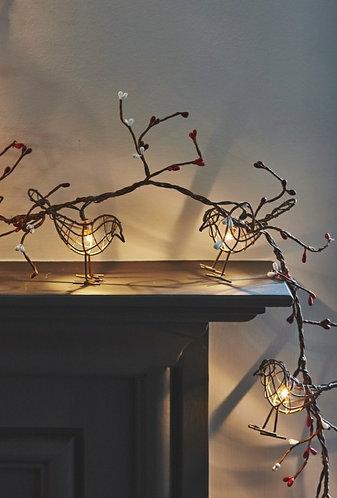 Winter Robin Indoor Light Chain