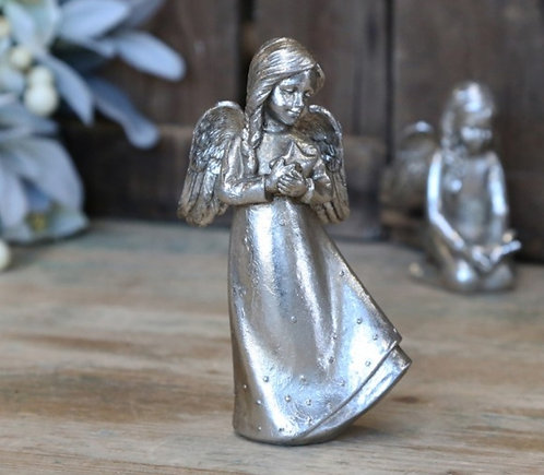 Antique Silver Angel