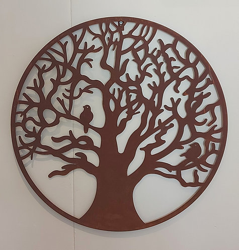 Large Autumn Tree Wall Plaque