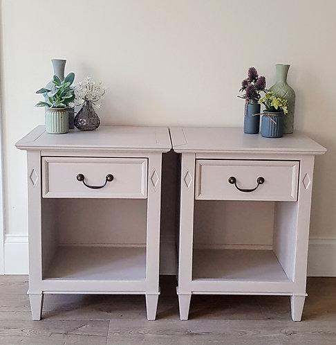 Bernard Siguier Bedside Cabinets
