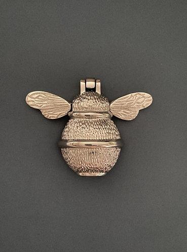 Nickel Bee Door Knocker