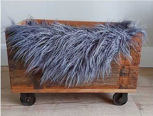 Rustic French Blanket Box