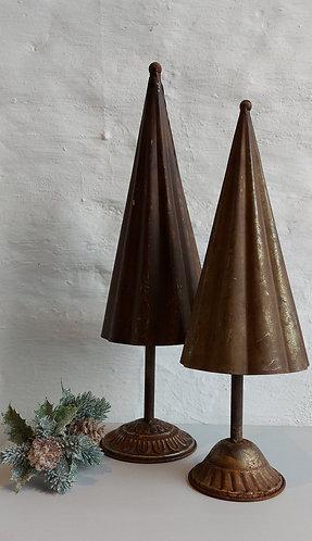 Small Vintage Brass Christmas Tree