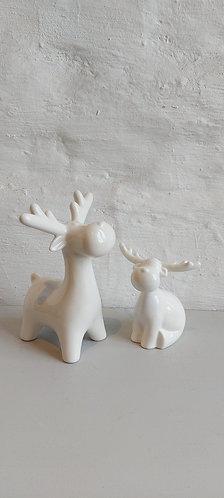 Standing Porcelain Reindeer