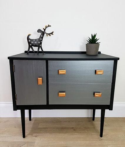 Retro Drawer & Cupboard Combination