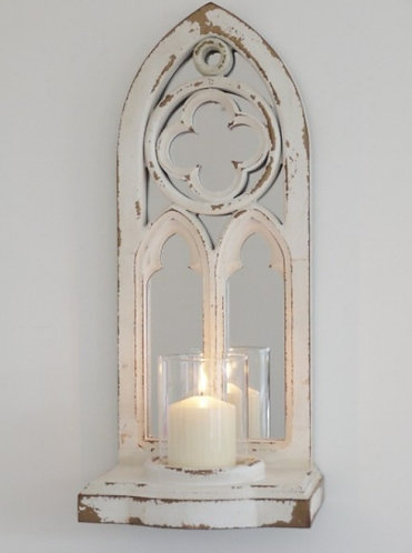 Arch Mirror Candle Holder