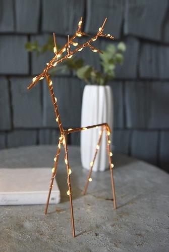 Copper LED Deer